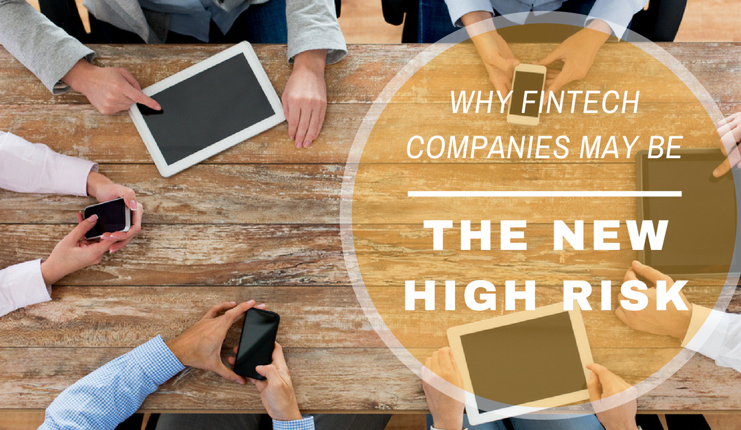 Why Fintech Companies May Be the New High Risk